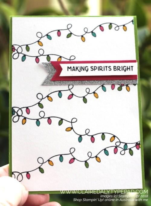 Christmas Lights Card