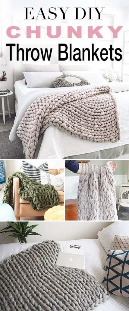 Chunky Throw Blankets