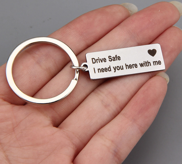 Drive Sate – Engrave Key Chain