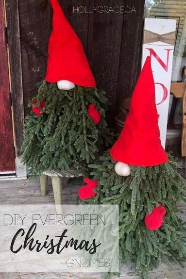 Evergreen Christmas Gnomes