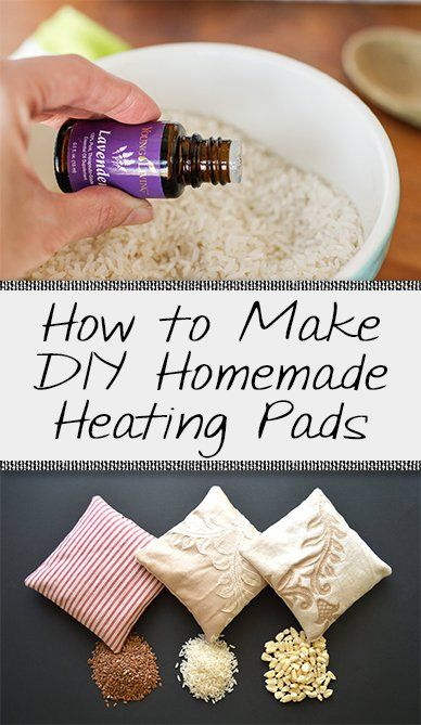 Homemade Heating Pads