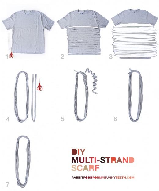 Multi-strand Scarf