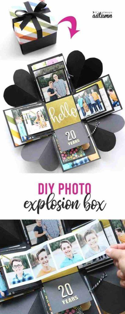 Photo Explosion Box