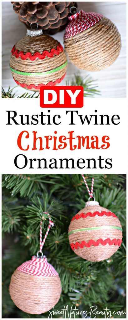 Twine Ornament