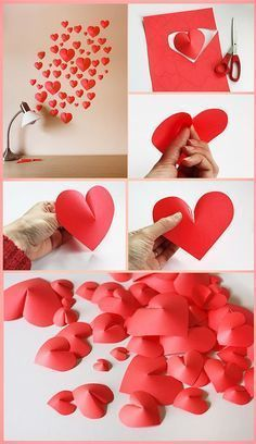 3D Heart Wall Decor