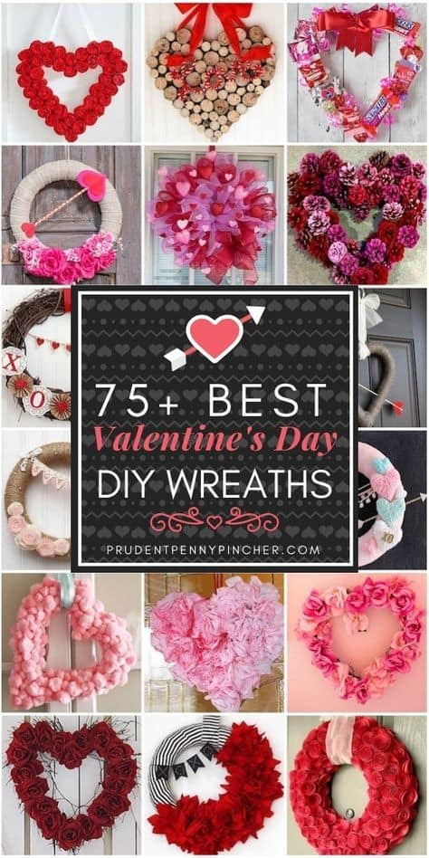 A Valentine Filled with Wreath
