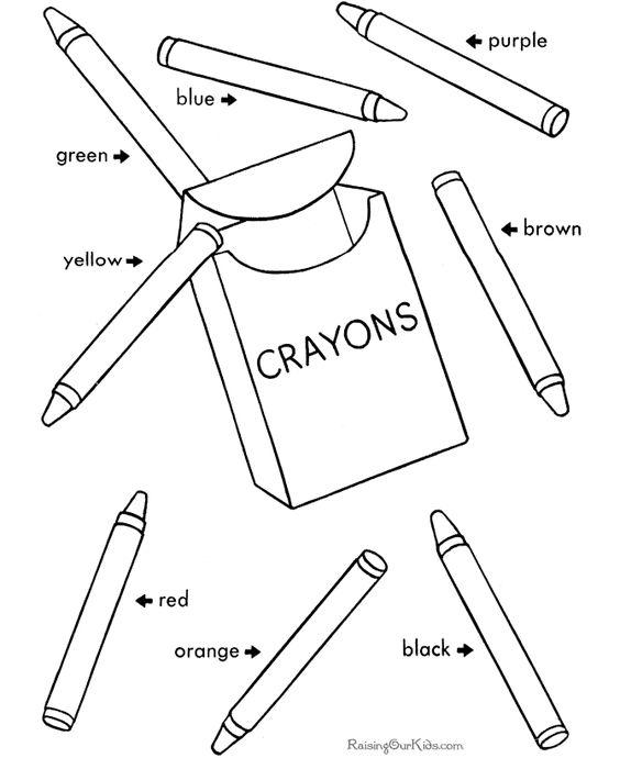 Back to School Coloring Pages 1