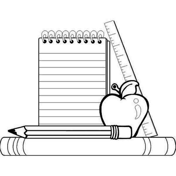 Back to School Coloring Pages 3