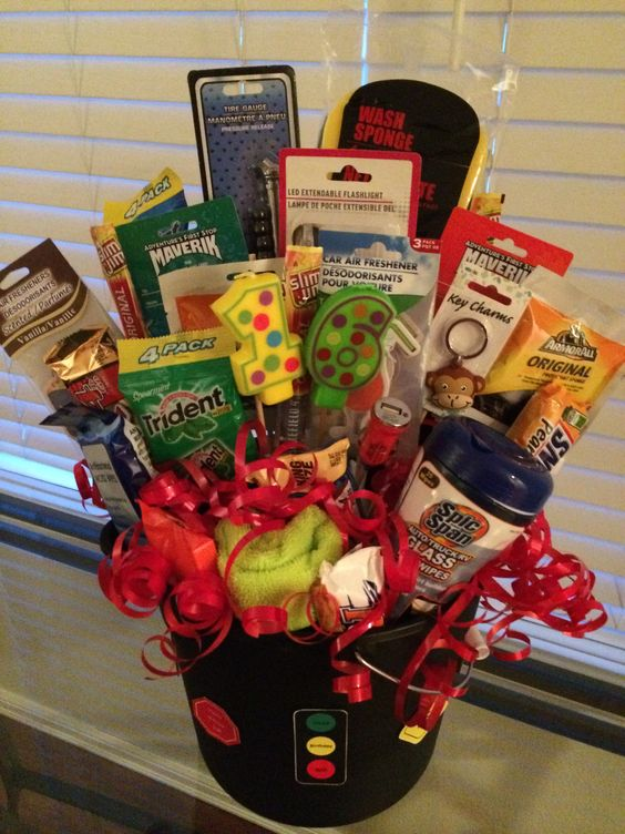 Bouquet of gifts