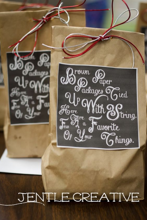 Brown Paper Giftbag