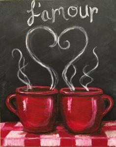 Coffee Cup Scene