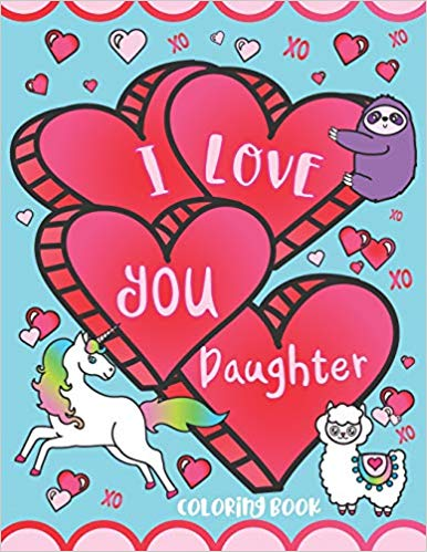Coloring Book – I Love You, Daughter