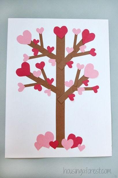 Crafty Heart Tree