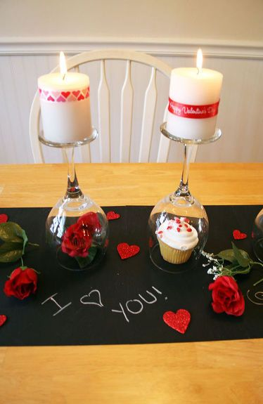 DIY Valentine's Day Table