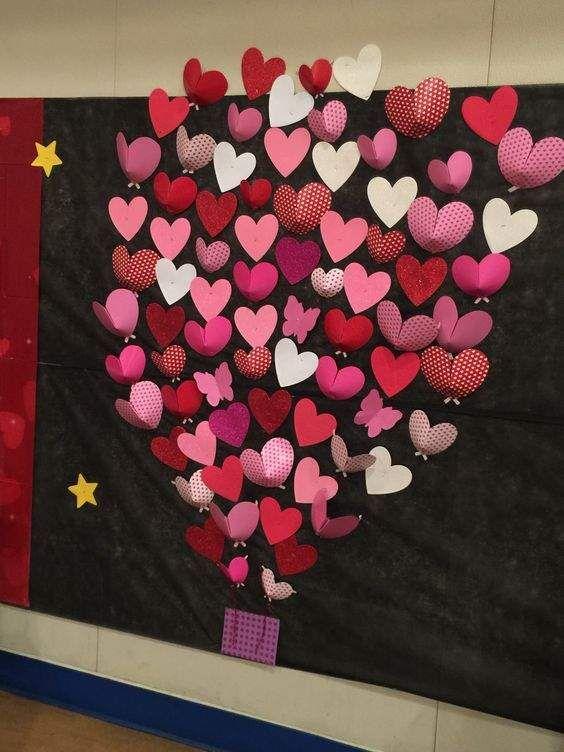 Heart Bulletin Boards