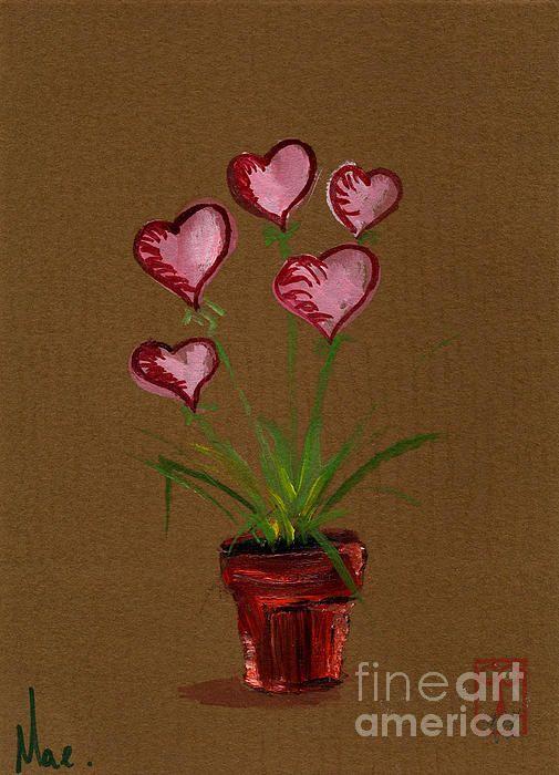 Heart Flower Pot