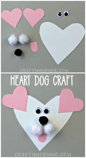 Heart-Shaped Dog