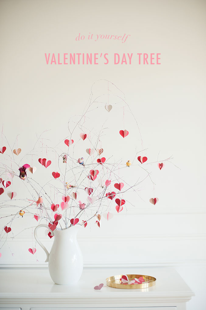 Heart branch tree