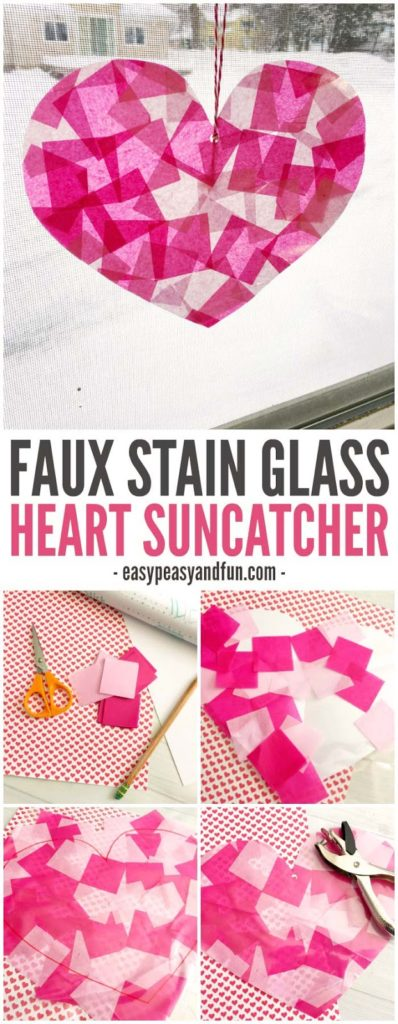 Heart-shaped Suncatcher