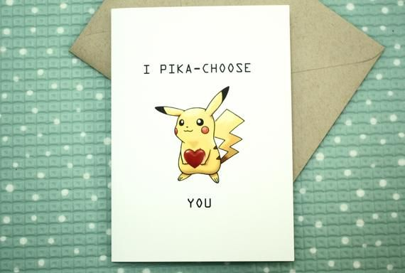 I Pikachoose You