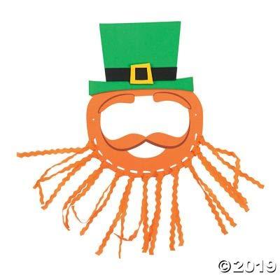 Leprechaun Mask Craft Kit