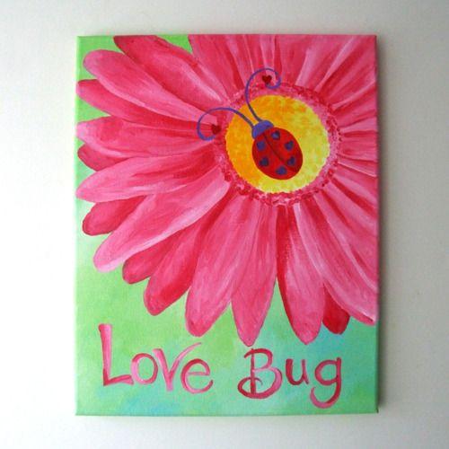 Love Bug Painting