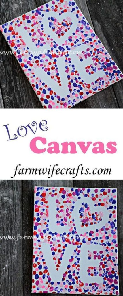 Love Polka-Dot Painting