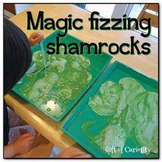 Magic Fizzing Shamrock