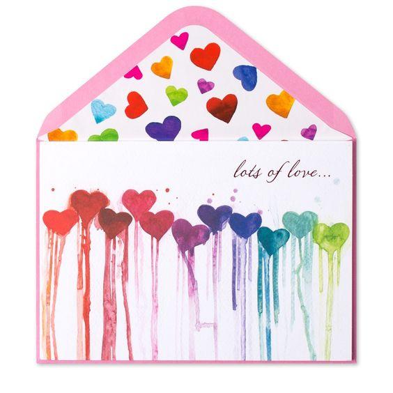 Melting Hearts Envelope