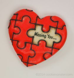 Missing You Puzzle Painting