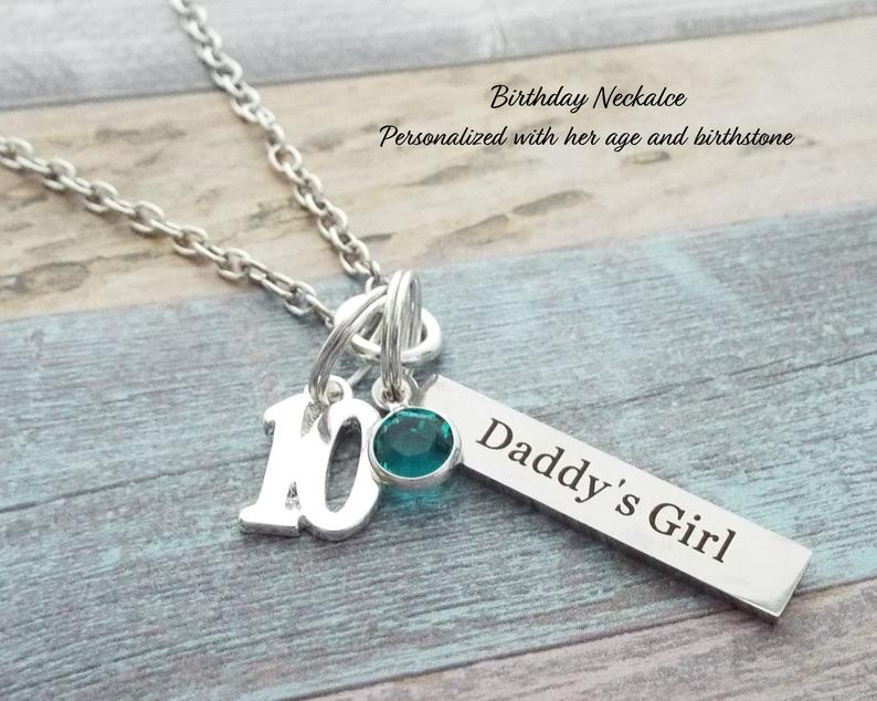 Necklace from Father to Daughter