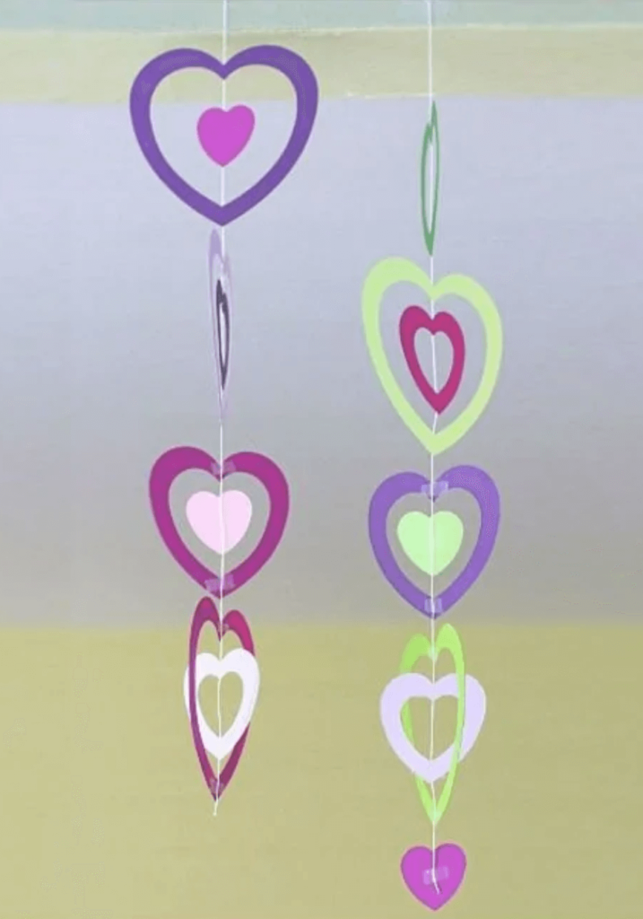 Paper Heart String