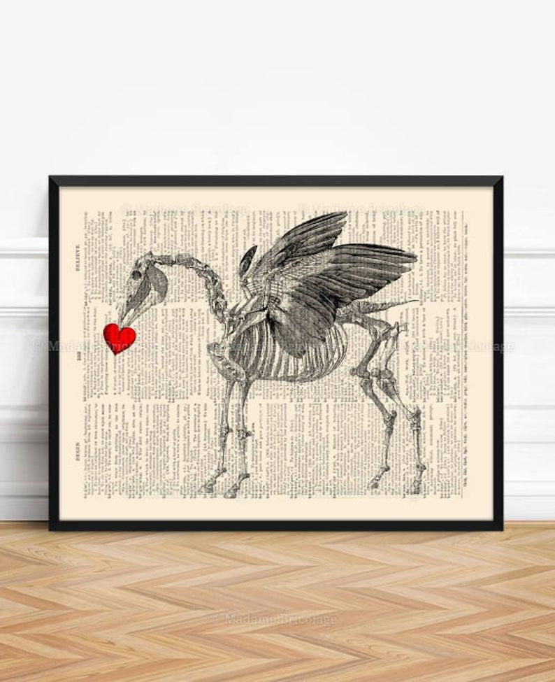 Pegasus Bone Print