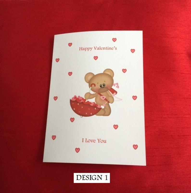Personalized Valentine Card