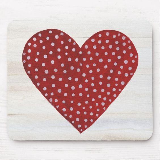 Polka-Dot Heart