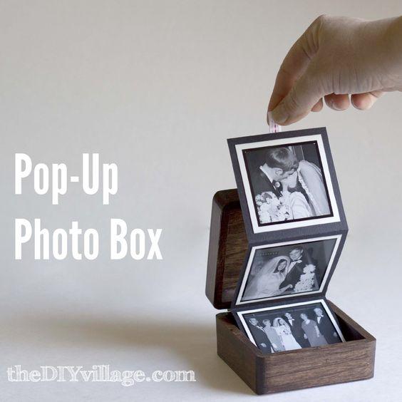 Pop-Up Photo Box