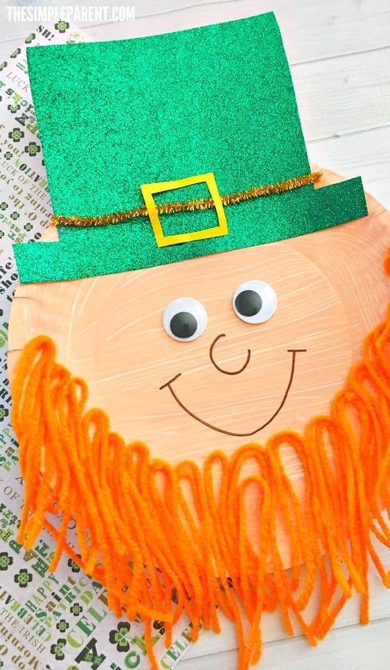 Preschool Leprechaun Craft to Make with Your Kids (of all ages)
