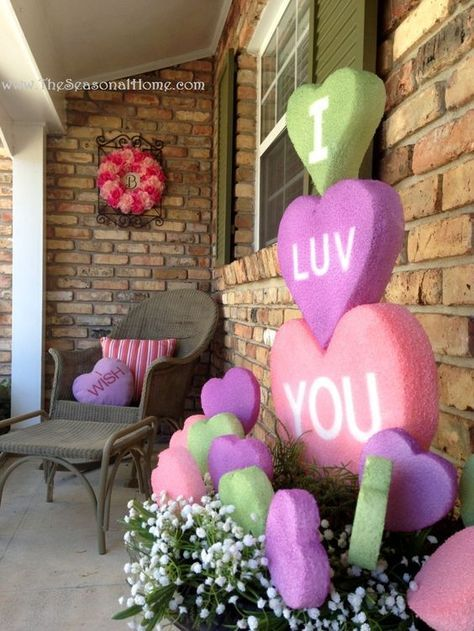 Repurposed Valentine's Day Decor