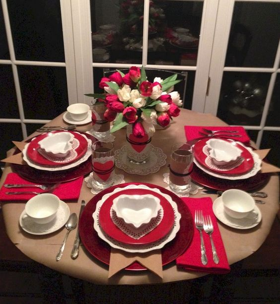 Romantic Dinner Set-up