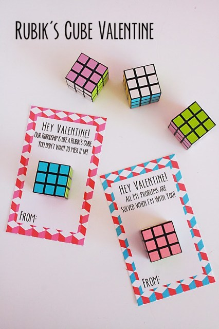 Rubik Cube Card