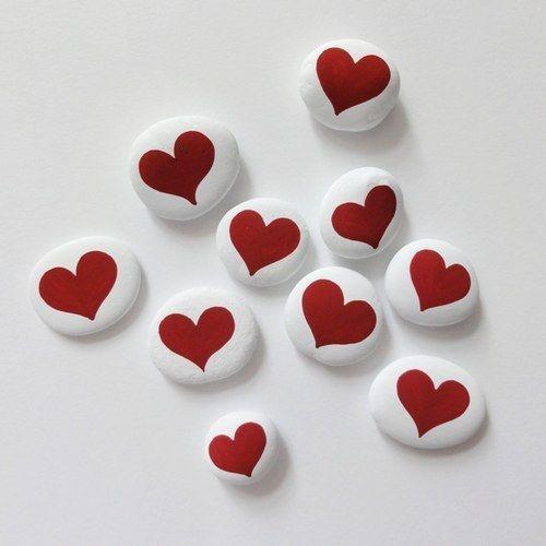 Simple Heart Rocks