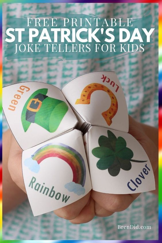 St. Patrick's Day Joke Teller for Kids