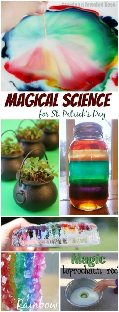 St. Patrick's Day Science Experiments