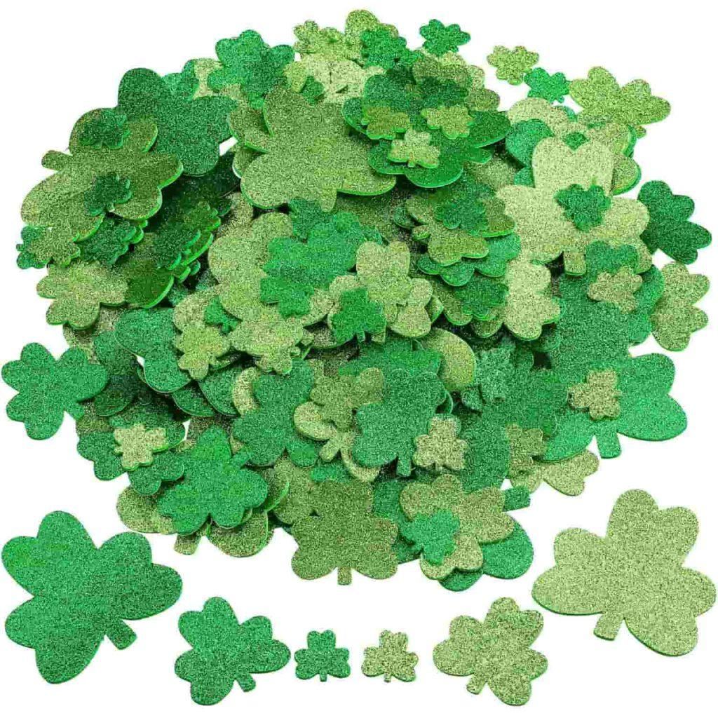 St. Patrick's Day Shamrock Foam Stickers