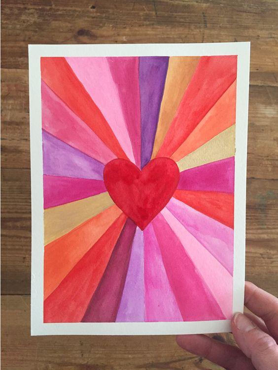 Sunburst Heart