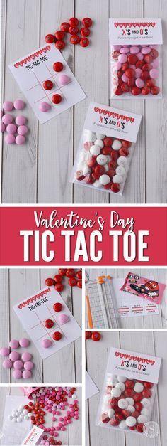 Tic Tac Toe Board & Bag Topper