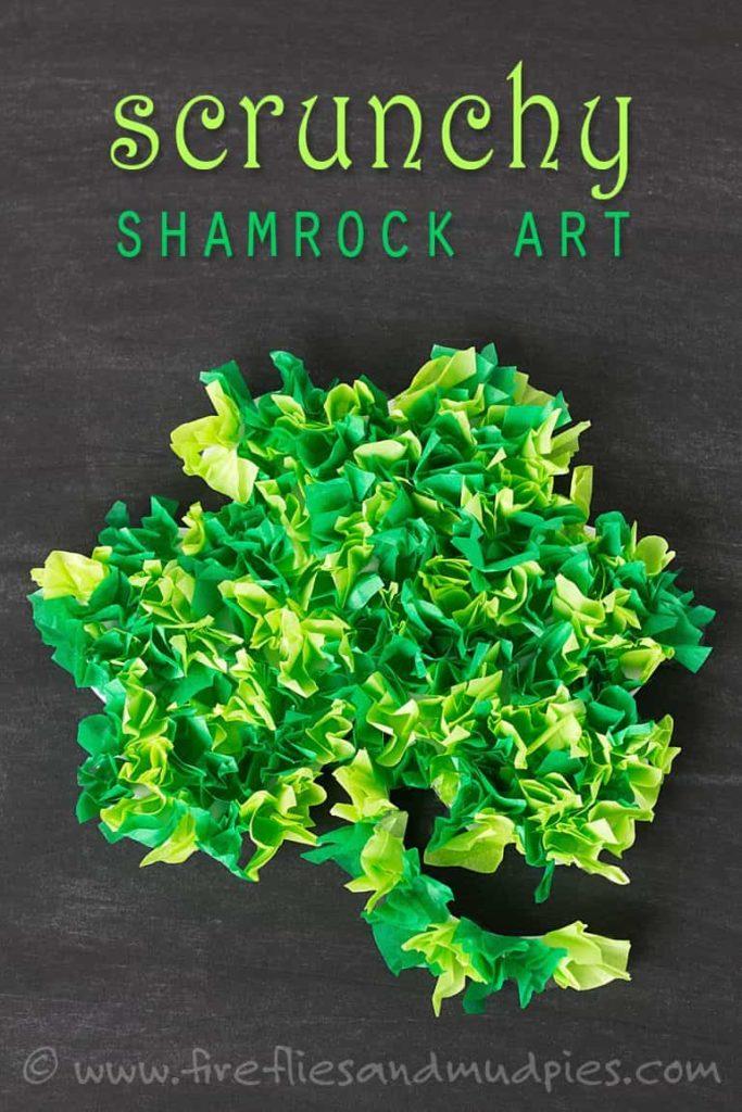 Tissue Paper Shamrocks