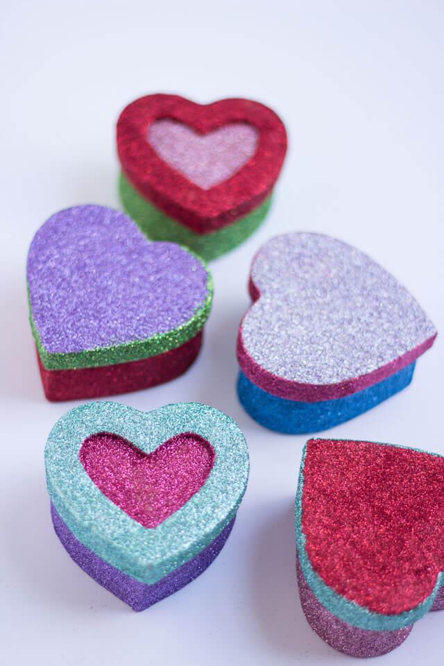 Twinkle heart box
