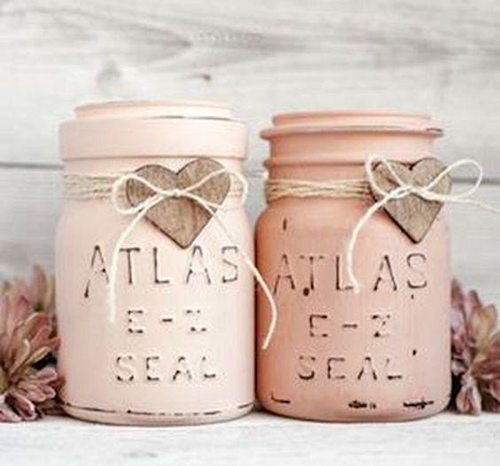Valentine's Day Mason Jars