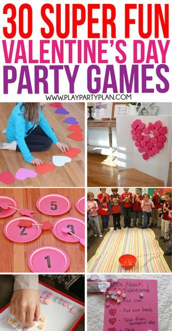 Valentine's Day Party Games as Decor